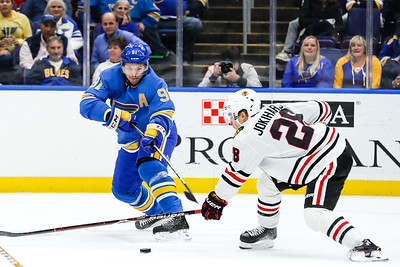 NHL: OCT 27 Blackhawks at Blues