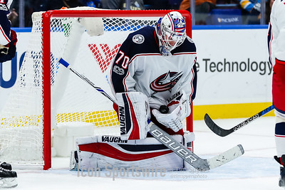 NHL: OCT 28 Blue Jackets at Blues