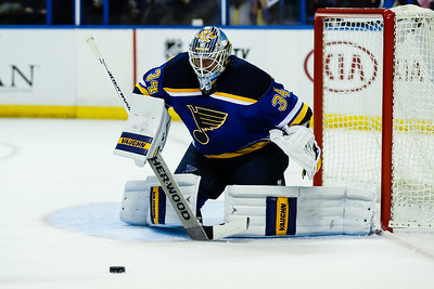 NHL: SEP 30 Preseason - Stars at Blues