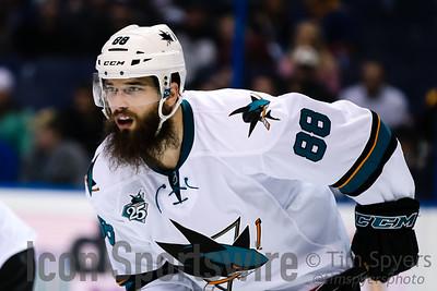 NHL: FEB 22 Sharks at Blues