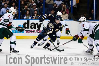 NHL: FEB 06 Wild at Blues