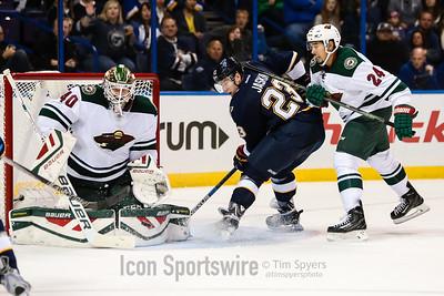 NHL: OCT 31 Wild at Blues