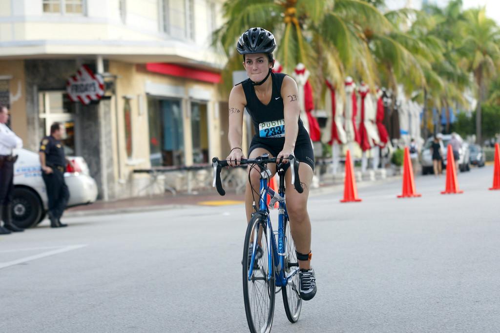 Publix South Beach, FL Triathlon - Duathlon - 0125
