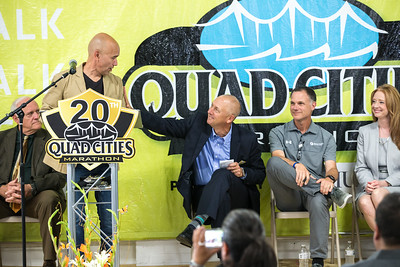 20th Quad Cities Marathon Press Conference