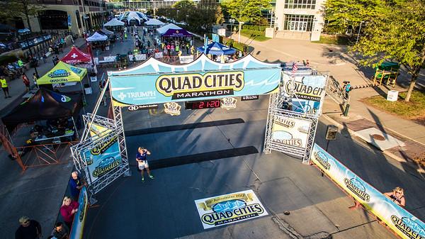 Quad Cities Marathon - Photo by Andy Heeb