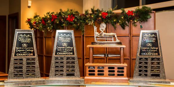 Quad Cities Marathon Awards at Neckers Jewelers