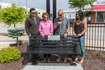 Runners Park Dedication for Benches