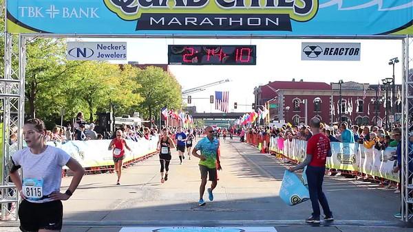 Men's Marathon Winner