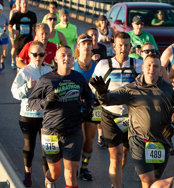 Quad Cities Marathon - Photo by Dave Shefield