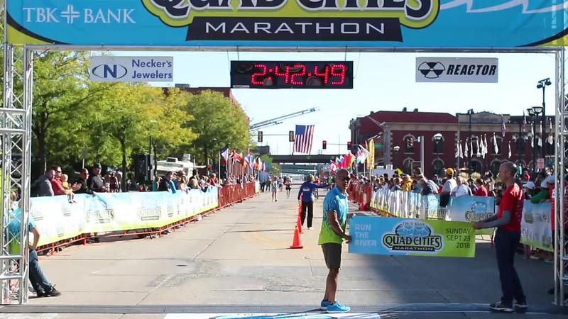 Women's Marathon Winner