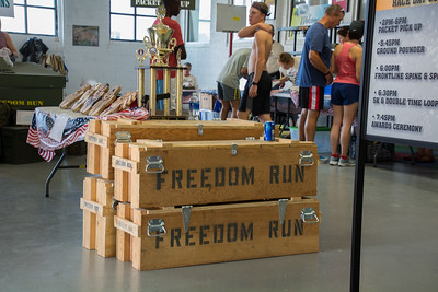 Freedom Run. Photo by Darrell Terronez