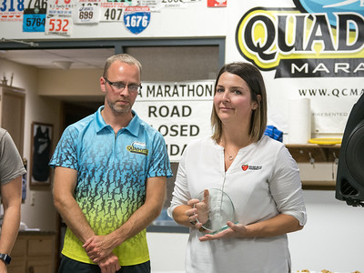 Quad Cities Marathon Post Race Party / Wrap Up