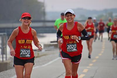 Quad Cities Marathon. - Virtual. Sunday photo by Larry Engstrom