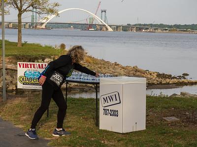 Quad Cities Marathon - Virtual. Saturday photo by Don Henderson
