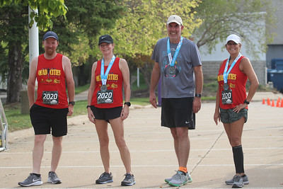 Quad Cities Marathon - Virtual. Photo by Mark Stegmaier