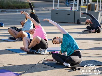 Quad Cities Marathon - Yoga & Stretching Session