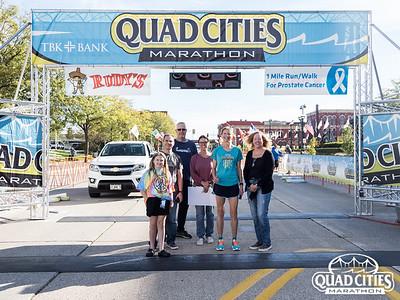 Quad Cities Marathon - Rudy's Taco 1 Mile Walk/Run