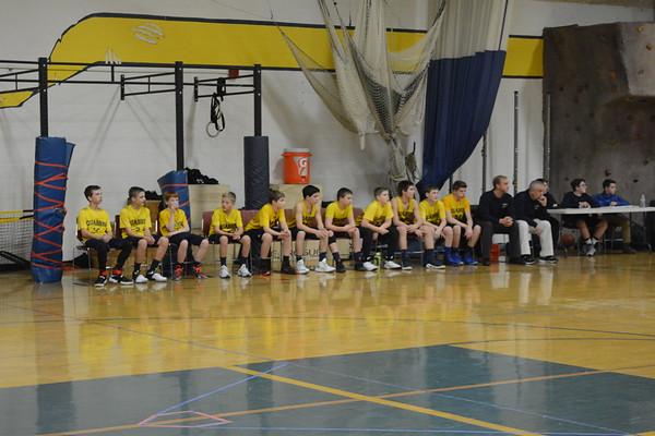 Quabbin MS basketball 1/5