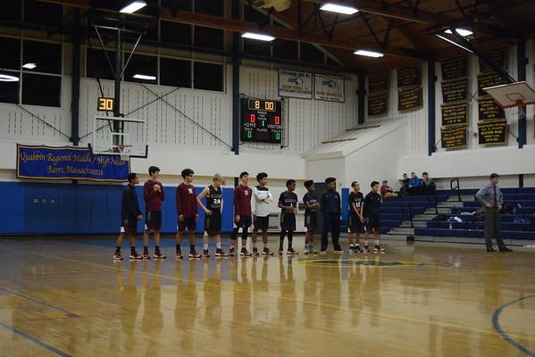 Quabbin Varsity Basketball vs. Hampden Charter 12/17/16