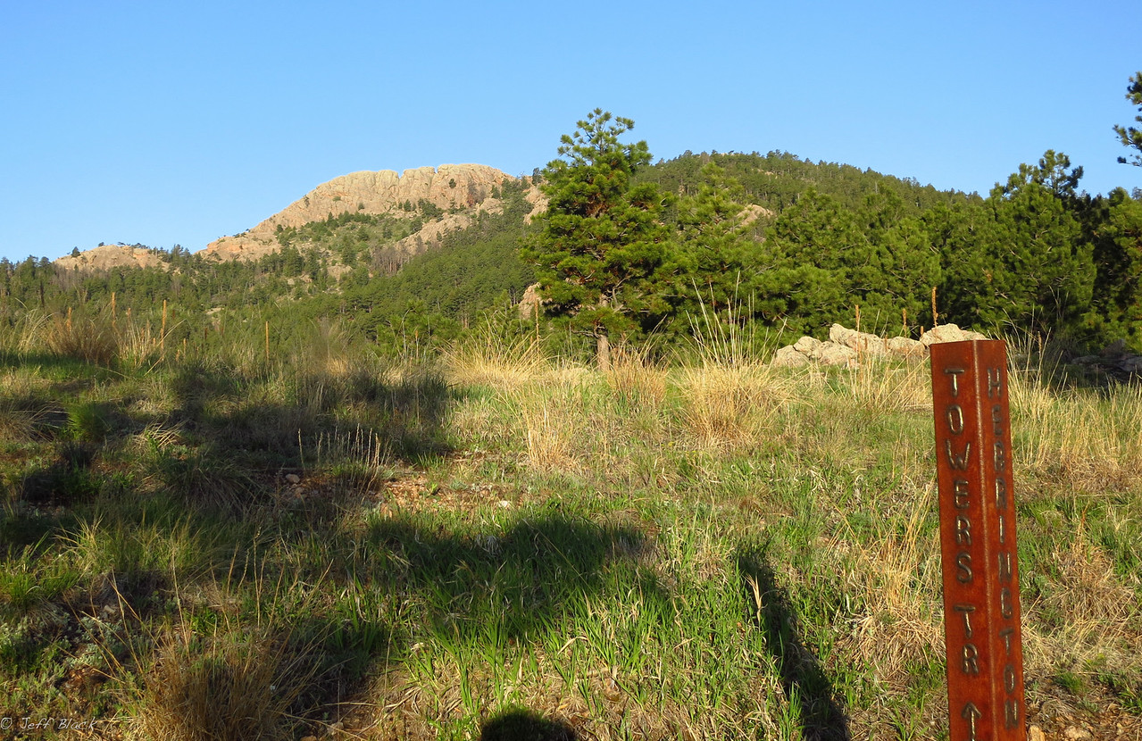 Horsetooth Rock.