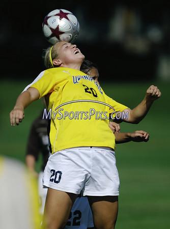 Quinnipiac Lehigh Women's Soccer 9/13/2009