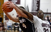Bob Raines--Montgomery Media<br /> Tennent's John Ryan grabs a rebound from Abington's Amir Hinton Thursday, Jan. 29, 2015