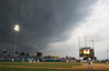 A thunderstorm rolls in to delay the PIAA AAAA championship game between North Penn vs Wyoming Valley West in the fifth inning at Medlar Field at Lubrano Park in State College on Friday, June 12, 2015. North Penn won in eight innings 4-3. (Bob Raines/Montgomery Media)