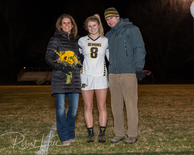 Ladies LAX Senior Night