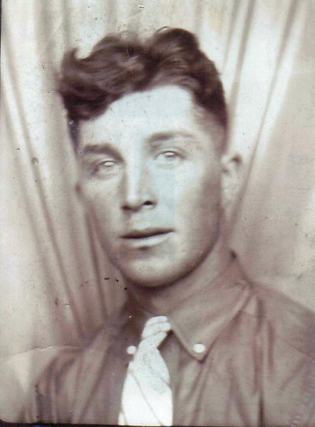 Floyd Lewis Bramwell in his late teens or early 20s.  (Photo provided by his sister, Opel Turner).