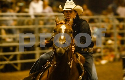 Barrel Racer races to the finish line