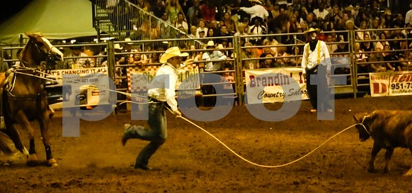 Calf Roper races against time for the calf