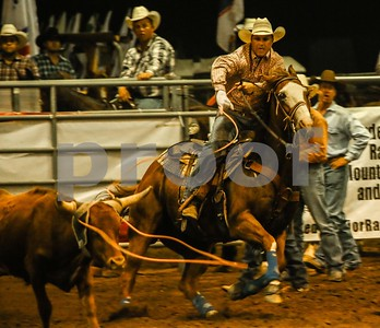 Calf Roping at the PRCA Norco, CA Rodeo, August 25, 2012