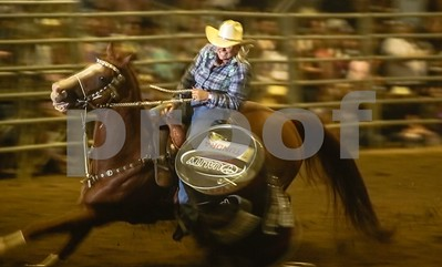 Barrel Racer cuts it too close