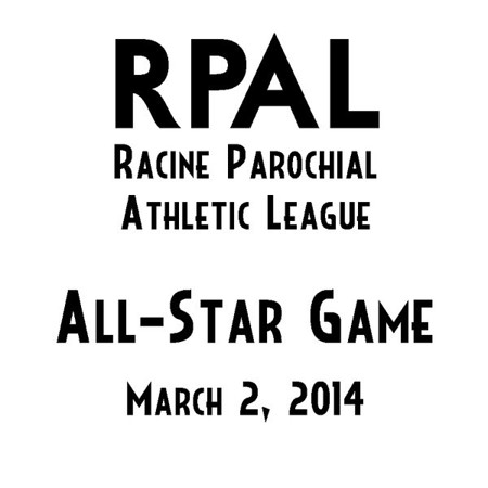 """Welcome to the RPAL 2014 All-Star game photo page, held at Racine St. Catherine's High School on March 2. All photo galleries are now posted, including team photos as well as action photos for both girls and boys.  You can order photos directly through the website. Game action photos are available in 4x6, 5x7, 8x10, and larger sizes, as well as framed and mounted photos. Digital downloads are available.  Please <a href=""""mailto:jeffreywilsonphoto@gmail.com"""">email me</a> if you have any questions."""