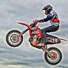 Ryan and his jet propelled KTM450. I think it has a jet pack unber the back fender