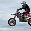 Not bad height for a Yamaha 250!