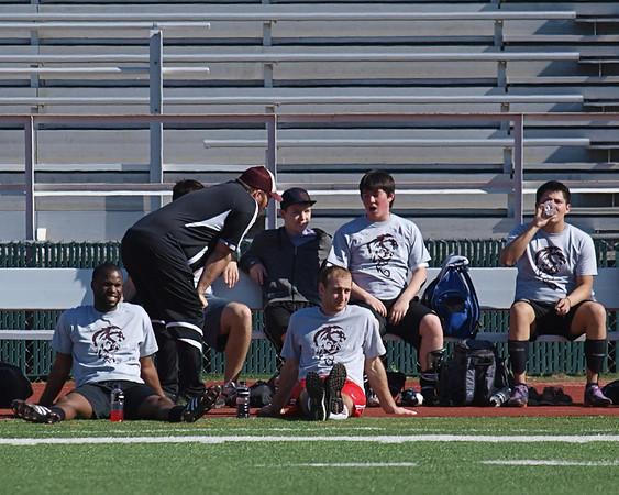Round Rock High School Varsity Soccer 2012