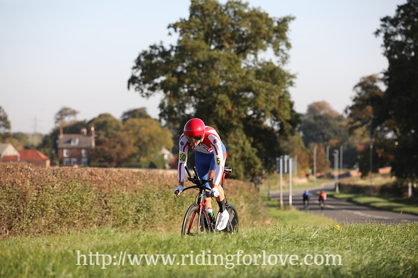 RTTC National 50 mile TT Championship MEN (Leicester Forest CC) course A50/13