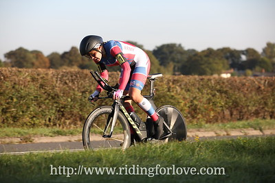 RTTC National 50 mile TT Championship WOMEN (Leicester Forest CC) course A50/13