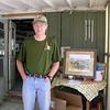 Bill Pilcher - mapper, meet director, proud displayer of Rabbit Creek accessories.
