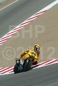 Valentino Rossi; during the 2005 MotoGP Red Bull USGP at Mazda Raceway Laguna Seca