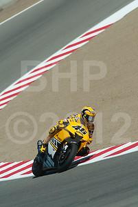 Valentino Rossi; during the 2005 MotoGP Red Bull USGP at Mazda Raceway Laguna Seca
