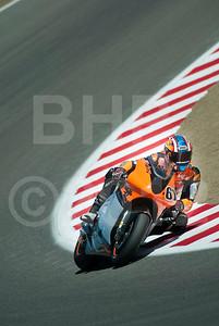 Shane 'Shakey' Byrne riding the Proton-KTM MotoGP