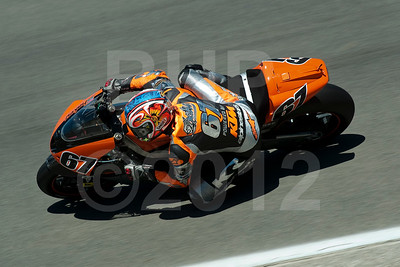 Shane 'Shakey' Byrne riding the Proton-KTM MotoGP