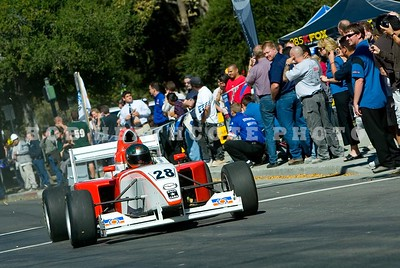 Russell Walker in the #28 Star Mazda