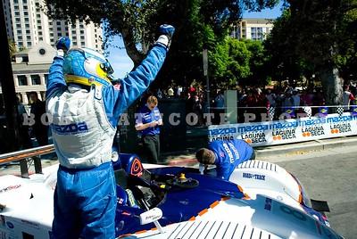 Guy Cosmo celebrates his victory