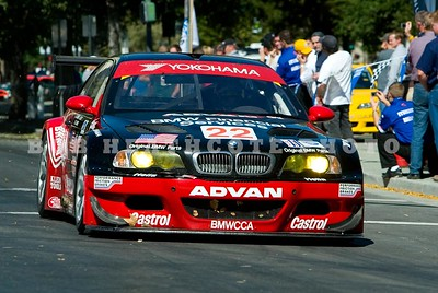 Joey Hand in the BMW M3