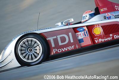Audi R10 TDI Power: Frank Biela, Emanuele Pirro