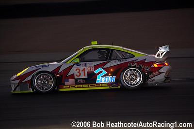 2006 GT2 Champions Petersen/White Lightning Porsche 911 GT3 RSR: Jorg Bergmeister, Tim Bergmeister, Patrick Long