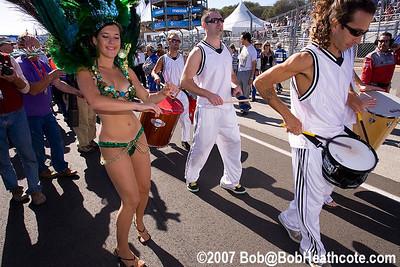 Pre-race performers